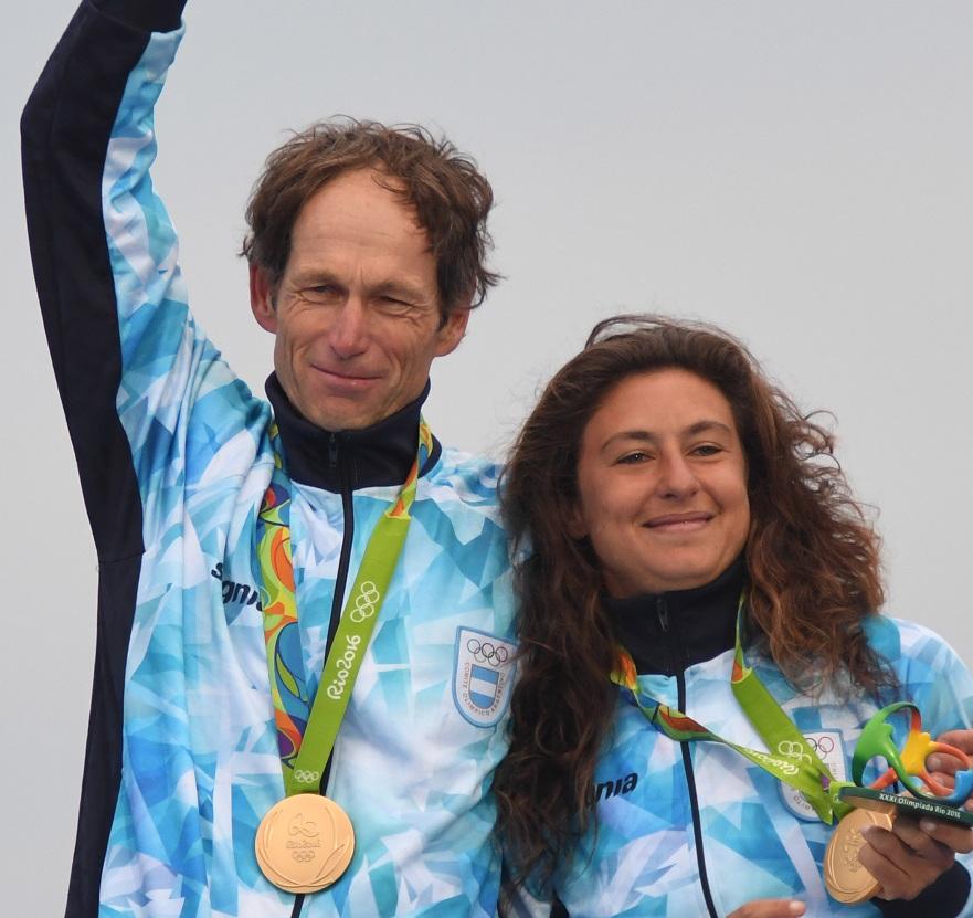 Cecilia Carranza y Santiago Lange, la dupla que será abanderada argentina en los JJOO de Tokio