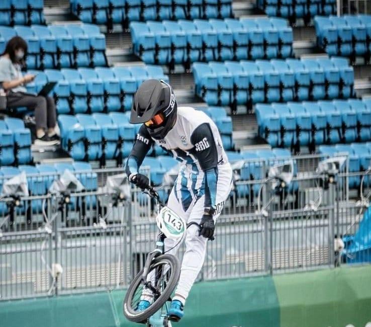 Tokio 2020: Exequiel Torres clasificó a la semifinal de BMX
