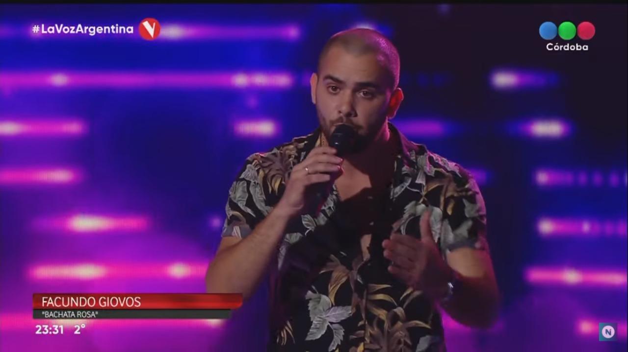 ¡Doblete!: Carlospacense fue elegido en La Voz y conquistó el corazón de Lali -VIDEO