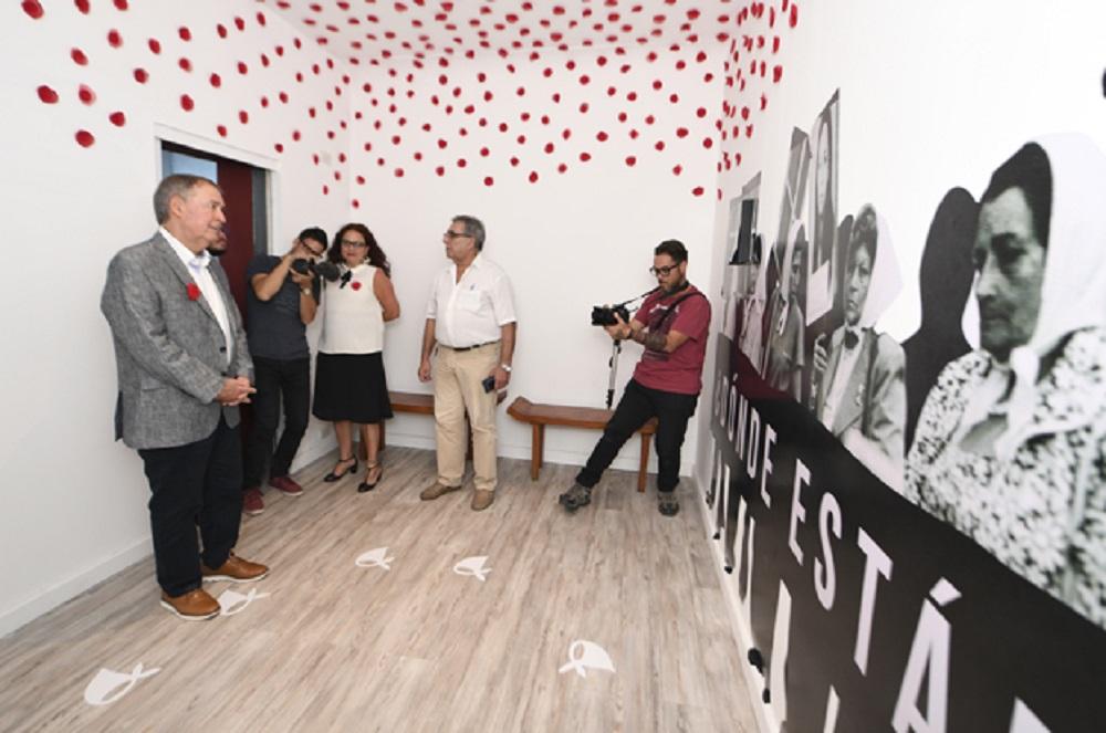Provincia inauguró obras en el Archivo Provincial de la Memoria