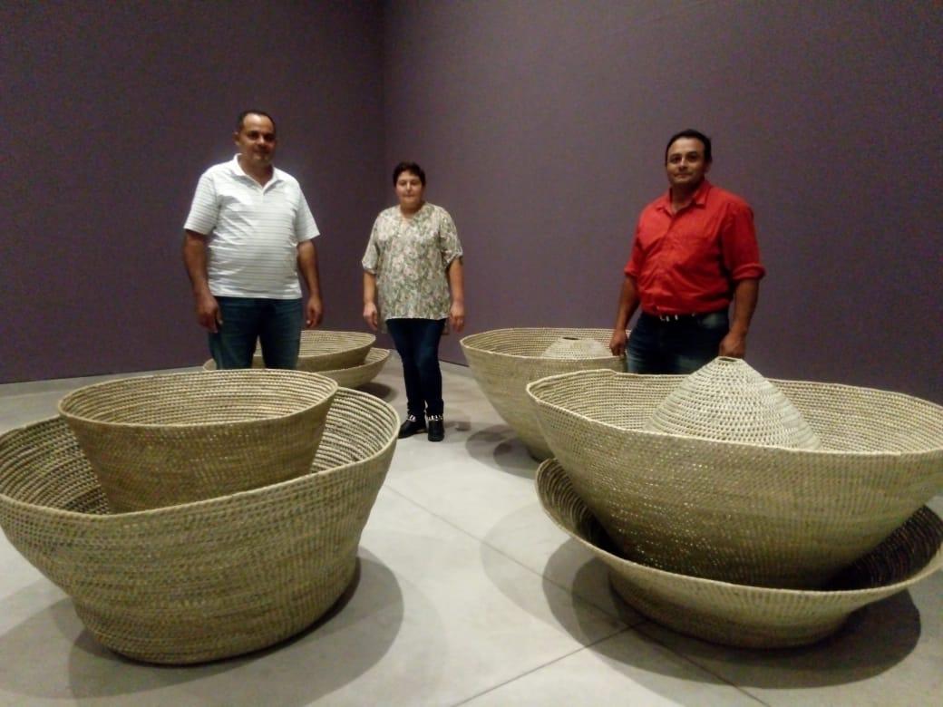 Cestería en palma de Caranday, de la artesanía funcional al arte contemporáneo