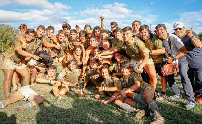 """Exitoso paso del """"Select 12"""" de la UAR por el Carlos Paz Rugby Club"""