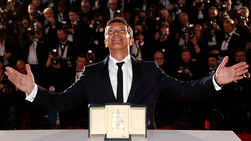 "Antonio Banderas, mejor actor de Cannes por ""Dolor y gloria"""
