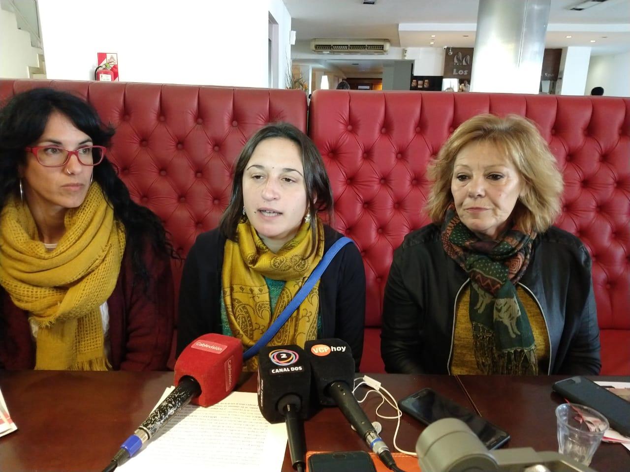 Fernanda Ames recibió el apoyo de Liliana Olivero y Laura Vilchez