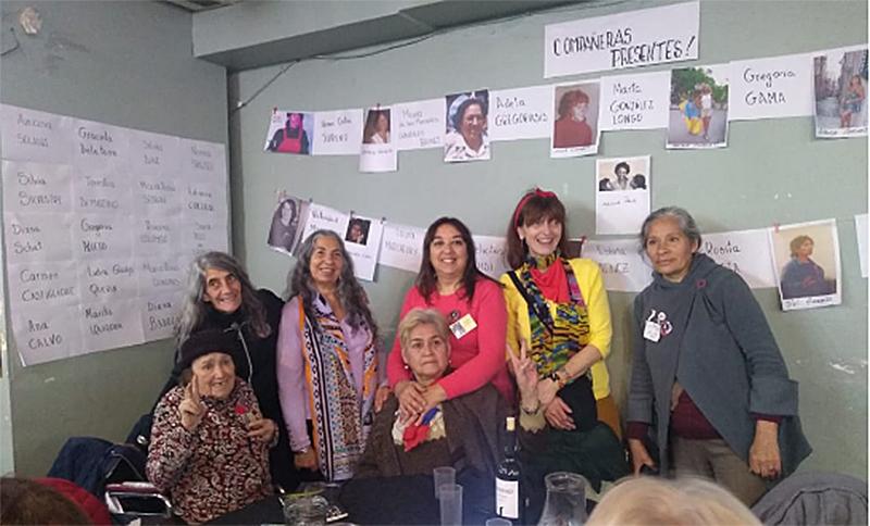 Madre e hija sobrevivieron a la Dictadura y 40 años después se reencontraron con sus amigas, expresas políticas