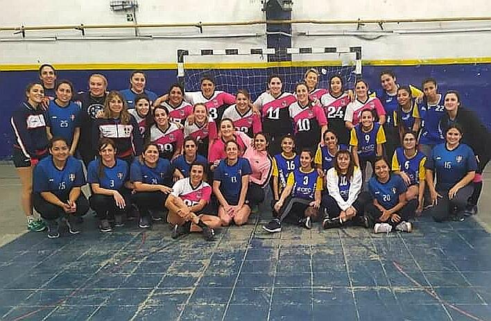 Este finde habrá handball femenino solidario en el Club Sarmiento