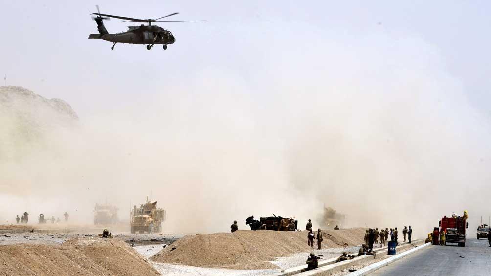 Estados Unidos atacó Afganistán y murieron 22 talibanes