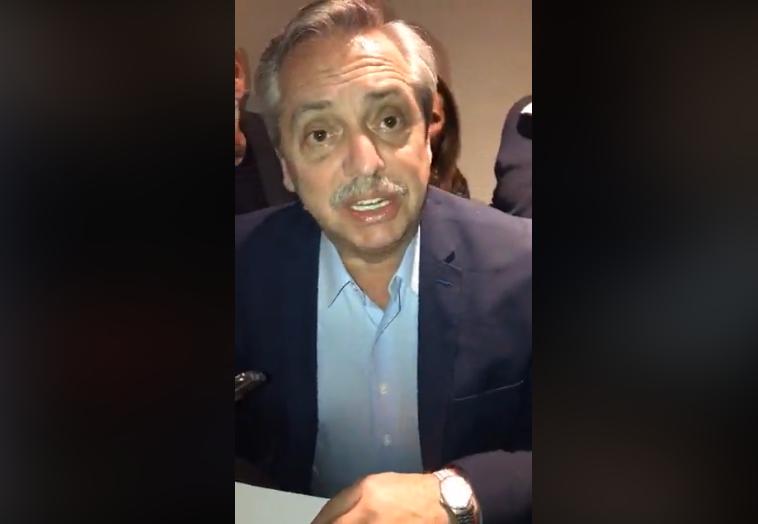 """Alberto en Carlos Paz: """"No podemos seguir en la lógica de la grieta"""""""