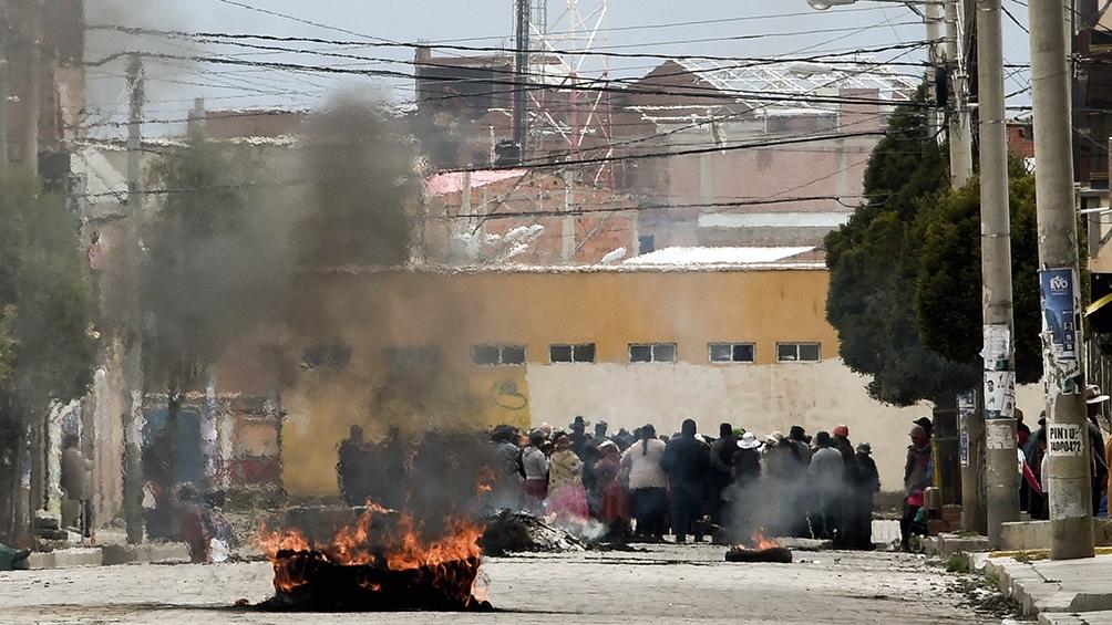 Bolivia: La Paz, paralizada y con calles cortadas alrededor de la Plaza Murillo