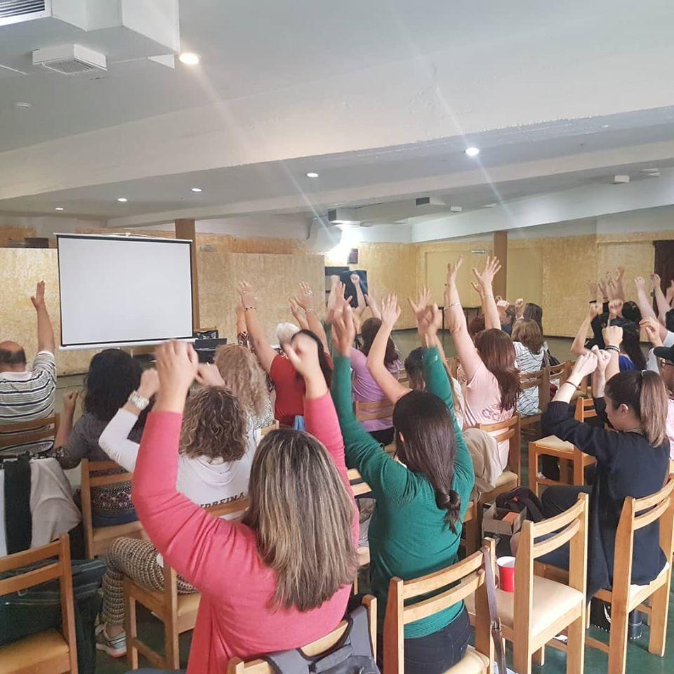 Jornada de Coaching a beneficio del Club Lechero de Carlos Paz