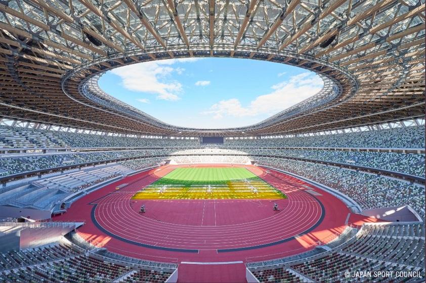 Tokio 2020: Inauguraron el Estadio Olímpico que recibirá a los Juegos